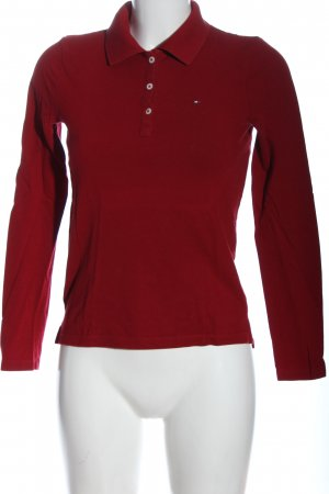 Tommy Hilfiger Longsleeve rot Casual-Look