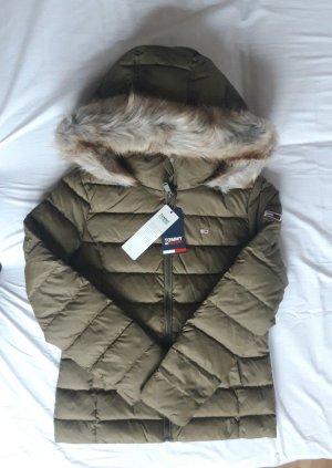 Tommy Hilfiger M 38 Daunenjacke Jacke neu Winterjacke khaki grün