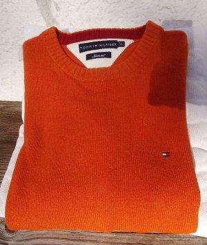 Tommy Hilfiger Maglione oversize arancione scuro Lana