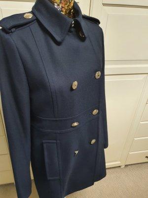 Tommy Hilfiger Abrigo ancho azul oscuro