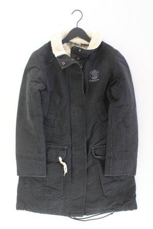 Tommy Hilfiger Mantel Größe M schwarz aus Baumwolle