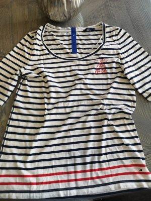 Tommy Hilfiger Marine Shirt Gr L Sommer