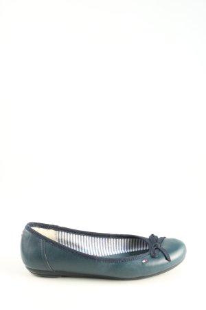 Tommy Hilfiger faltbare Ballerinas blau Casual-Look