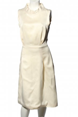 Tommy Hilfiger Midikleid creme Business-Look