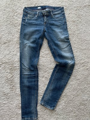 Tommy Hilfiger Milan slim fit Jeans 27/32 blaue Waschung