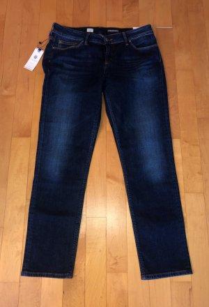 Tommy Hilfiger Jeans slim fit blu scuro-blu Cotone