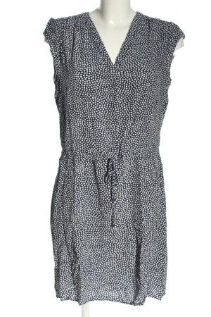 Tommy Hilfiger Minikleid schwarz-weiß Allover-Druck Casual-Look
