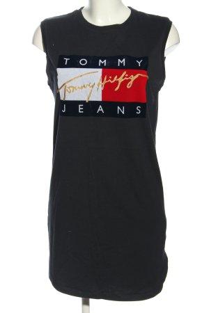 Tommy Hilfiger Minikleid Schriftzug gedruckt Casual-Look