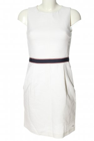 Tommy Hilfiger Minikleid weiß-schwarz Casual-Look