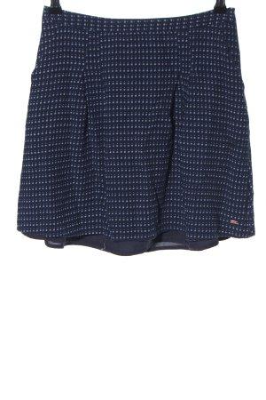 Tommy Hilfiger Mini rok blauw-wit volledige print casual uitstraling