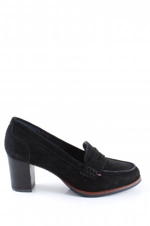 Tommy Hilfiger Loafers black business style