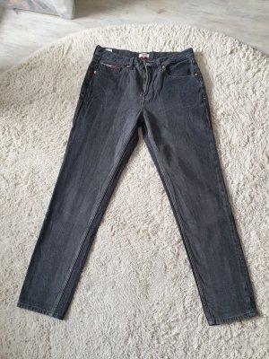 Tommy Hilfiger Mom Jeans Izzy schwarz, grau Gr.M/L