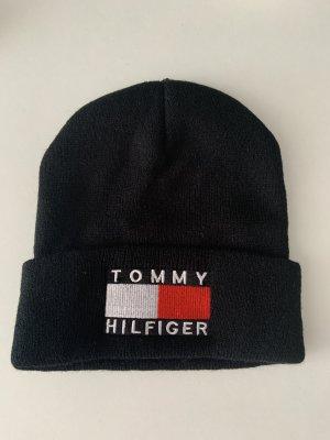 Tommy Hilfiger Sombrero de punto negro