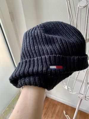 Tommy Hilfiger Chapeau en tricot noir