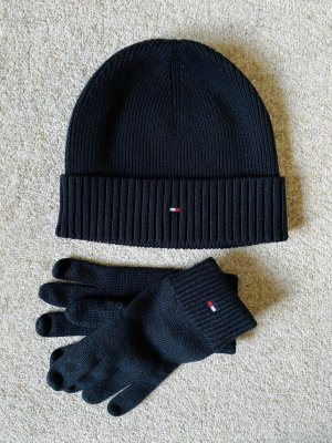Tommy Hilfiger Mütze und Handschuhe schwarz neu ungetragen