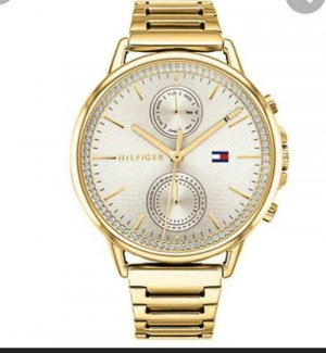 Tommy Hilfiger Watch With Metal Strap gold-colored