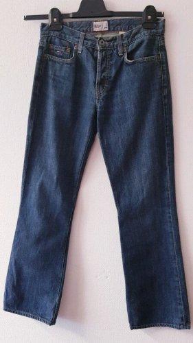 Tommy Hilfiger Jeans vita bassa blu-blu scuro Cotone