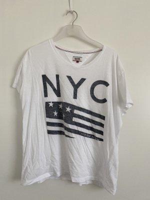 Tommy Hilfiger NYC T-Shirt L weiß
