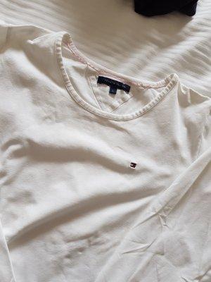 Tommy Hilfiger Lang shirt wit