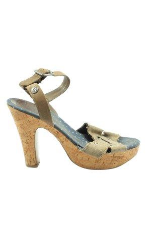 Tommy Hilfiger Platform Sandals khaki casual look