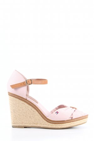 Tommy Hilfiger Plateau-Sandaletten pink Casual-Look