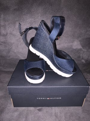 Tommy Hilfiger Platform Sandals dark blue