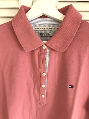 Tommy Hilfiger Top Polo rosa-salmone