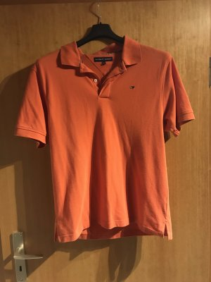 Tommy Hilfiger Top Polo arancione