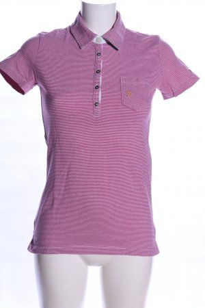 Tommy Hilfiger Polo-Shirt pink Allover-Druck Casual-Look