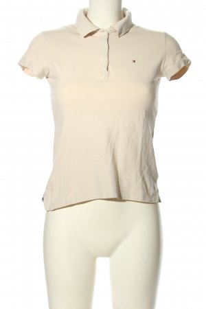 Tommy Hilfiger Polo-Shirt creme Casual-Look