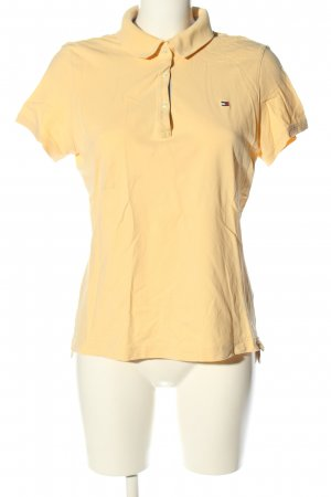 Tommy Hilfiger Polo-Shirt hellorange Casual-Look