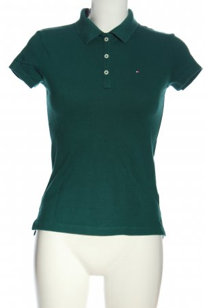 Tommy Hilfiger Polo-Shirt grün Casual-Look