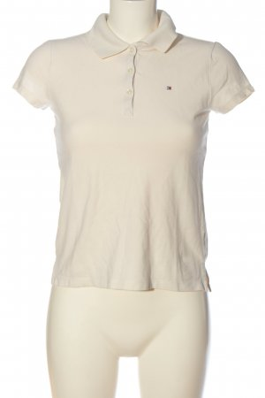 Tommy Hilfiger Polo-Shirt wollweiß Casual-Look