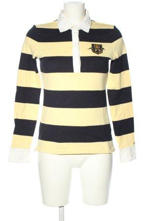Tommy Hilfiger Camiseta tipo polo amarillo pálido estampado a rayas look casual