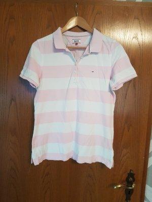 Tommy Hilfiger Polo Shirt white-light pink