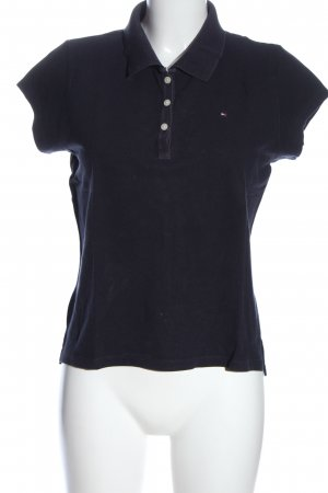 Tommy Hilfiger Polo Shirt black casual look