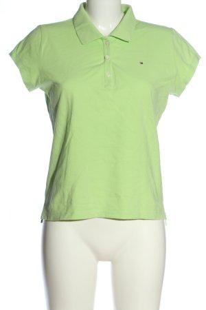 Tommy Hilfiger Polo-Shirt grün Casual-Look