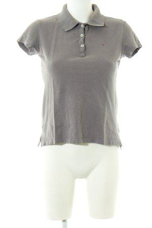 Tommy Hilfiger Polo grigio chiaro stile casual