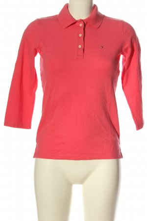 Tommy Hilfiger Polo-Shirt pink Casual-Look