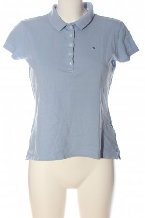 Tommy Hilfiger Polo-Shirt blau Allover-Druck Casual-Look