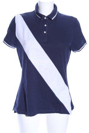 Tommy Hilfiger Polo blu-bianco stile casual