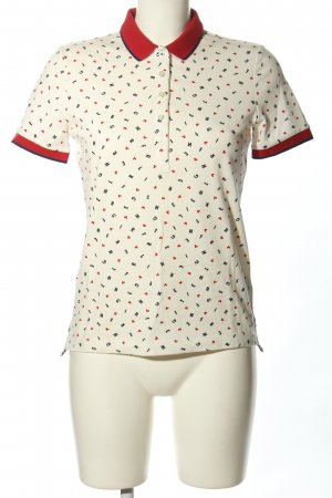 Tommy Hilfiger Polo stampa integrale stile casual