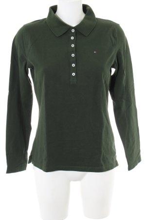 Tommy Hilfiger Polo shirt khaki casual uitstraling
