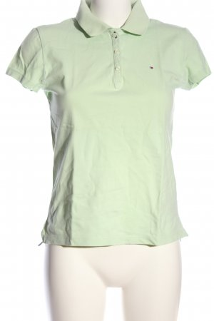 Tommy Hilfiger Polo verde stile casual