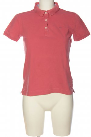 Tommy Hilfiger Polo rosa stile casual