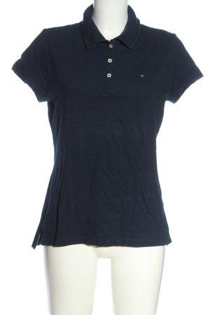 Tommy Hilfiger Polo-Shirt blau schlichter Stil