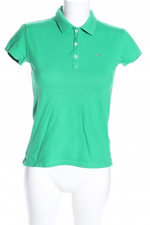 Tommy Hilfiger Polo Shirt green casual look