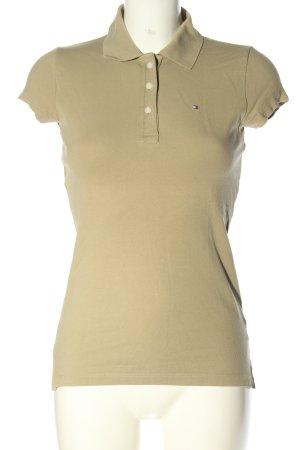 Tommy Hilfiger Polo-Shirt wollweiß Casual-Look
