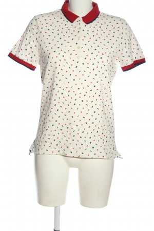Tommy Hilfiger Polo-Shirt Allover-Druck Casual-Look