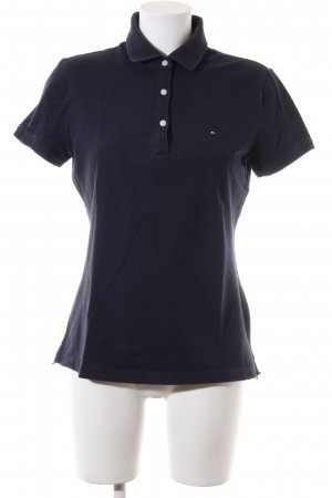 Tommy Hilfiger Polo-Shirt blau Business-Look
